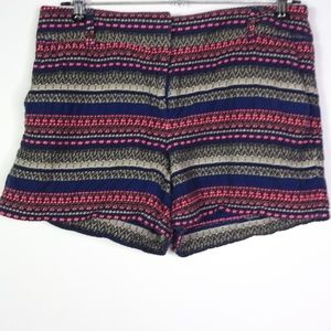 LOFT Women's Riviera Shorts Tapestry Design Casual